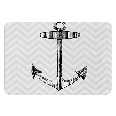 Anchor by Suzanne Carter Bath Mat