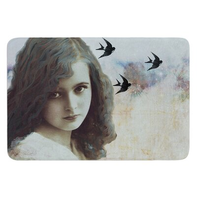 Field of Dreams by Suzanne Carter Bath Mat