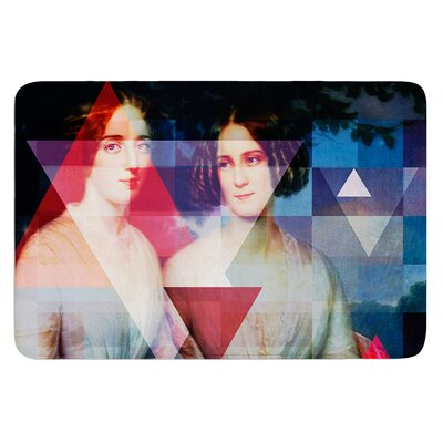 Twins by Suzanne Carter Bath Mat