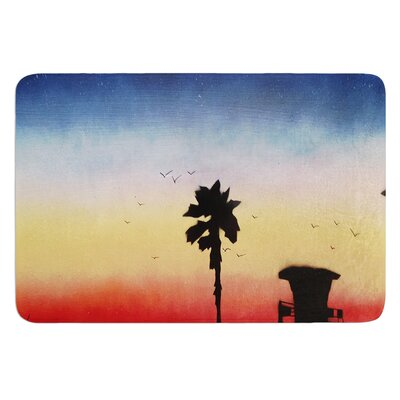 Carlsbad Sunset by Infinite Spray Art Bath Mat