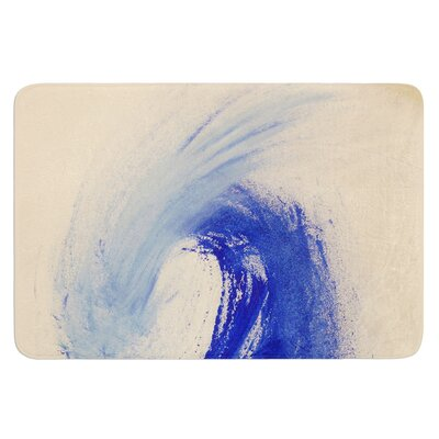 Waveology by Infinite Spray Art Bath Mat