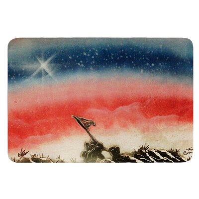 Veterans Day by Infinite Spray Art Bath Mat
