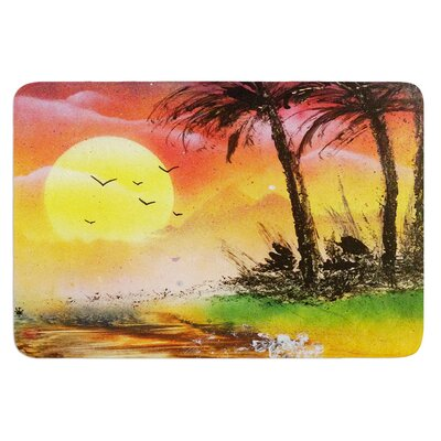 Maui Sunrise by Infinite Spray Art Bath Mat