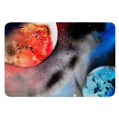 Sun VS. Moon by Infinite Spray Art Bath Mat