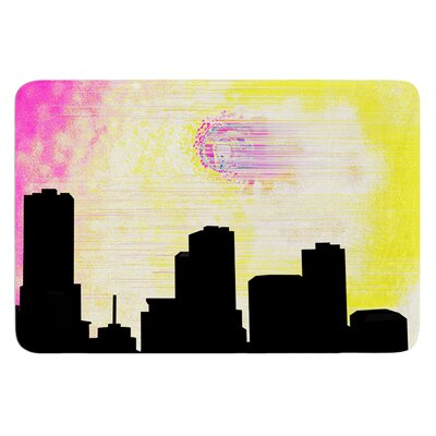 Skylined by Infinite Spray Art Bath Mat