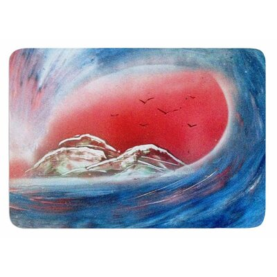 Tubular by Infinite Spray Art Bath Mat