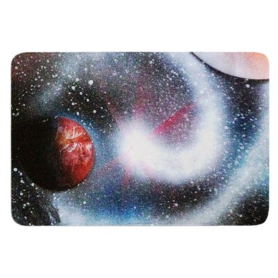 Starburst by Infinite Spray Art Bath Mat
