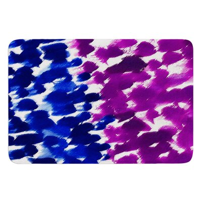 Fleeting by Emine Ortega Bath Mat Color: Purple, Size: 24 W x 36 L