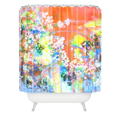 Coral Delight by Laura Trevey Shower Curtain