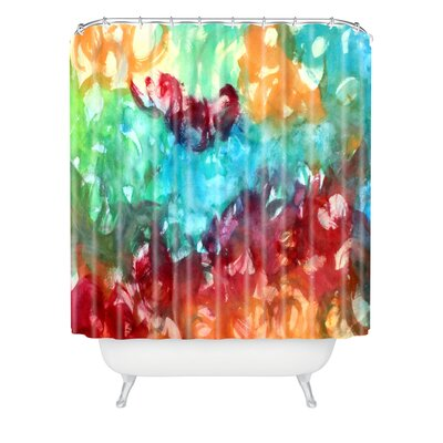 Constant Motion by Laura Trevey Shower Curtain