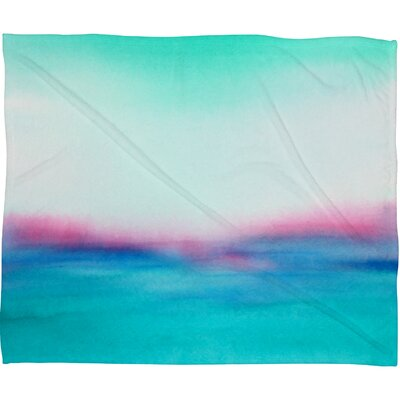 In Your Dreams Fleece by Laura Trevey Throw Blanket Size: Large