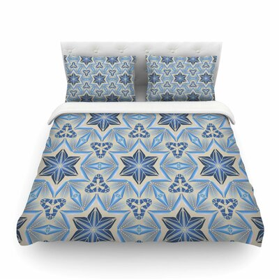 Astral by Angelo Cerantola Featherweight Duvet Cover Size: Twin