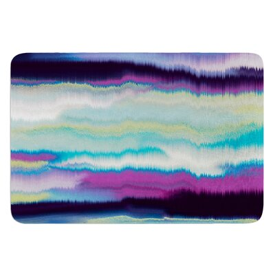 Artika by Nina May Bath Mat Color: Purple/Orange