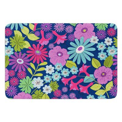 Lula by Jacqueline Milton Bath Mat Color: Tropical, Size: 17W x 24L