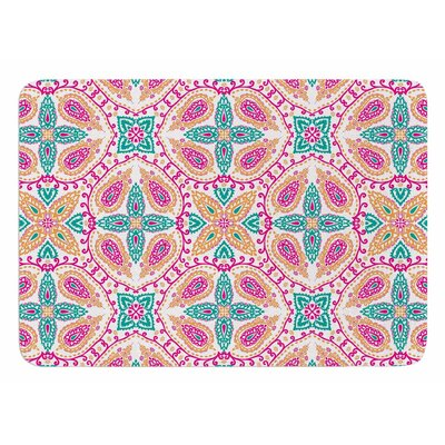 Boho Bath Mat Color: Multi