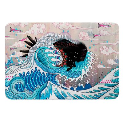 Unstoppable Bull by Mat Miller Bath Mat