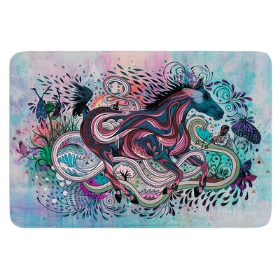 Poetry in Motion by Mat Miller Bath Mat