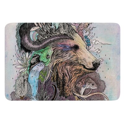 Forest Warden by Mat Miller Bath Mat