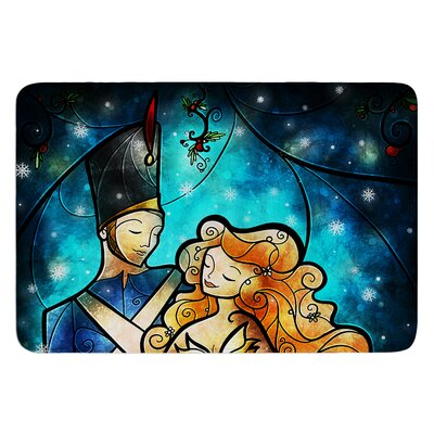 Nutcracker by Mandie Manzano Bath Mat