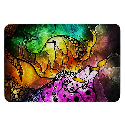 Sleeping Beauty by Mandie Manzano Bath Mat