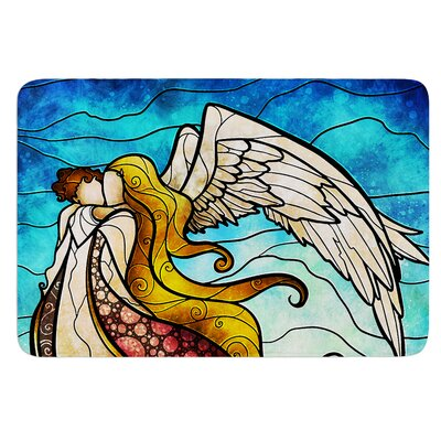 In the arms of the Angel by Mandie Manzano Bath Mat