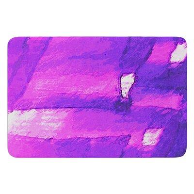 Suenos en Purpura by Oriana Cordero Bath Mat