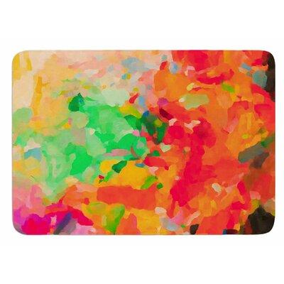 La Rochelle-Abstract by Oriana Cordero Bath Mat