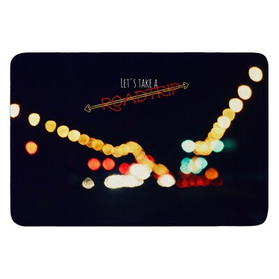 Road Trip by Robin Dickinson Bath Mat