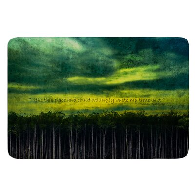 I Like This Place by Robin Dickinson Bath Mat