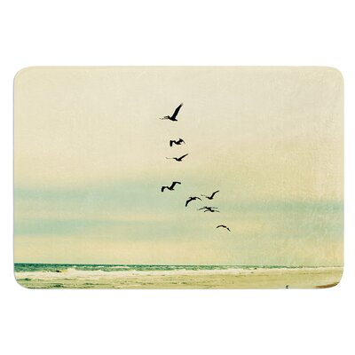 Across The Endless Sea by Robin Dickinson Bath Mat