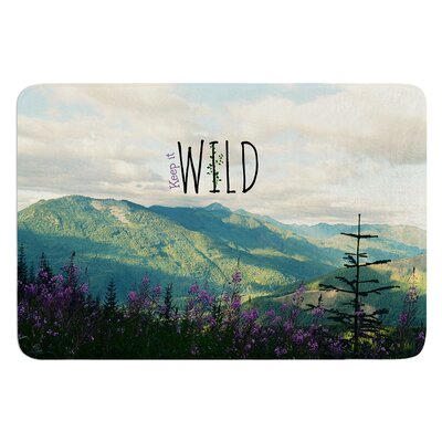 Keep it Wild by Robin Dickinson Bath Mat