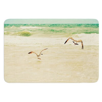 Karate Kid Pose by Robin Dickinson Bath Mat