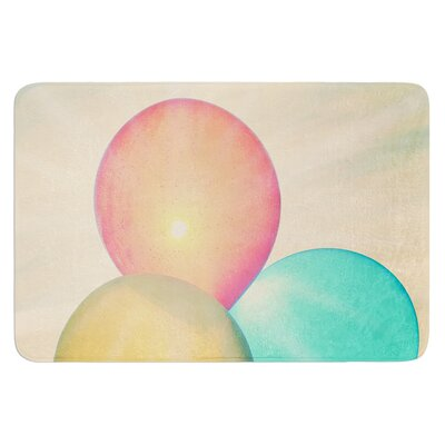 Balloons by Robin Dickinson Bath Mat