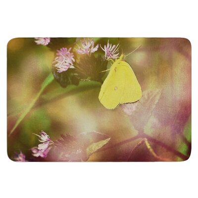 Butterfly Kisses by Robin Dickinson Bath Mat