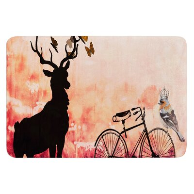 Vintage Forest by Suzanne Carter Bath Mat