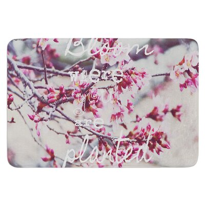 Bloom by Suzanne Carter Bath Mat