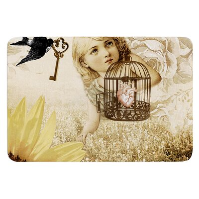 Key by Suzanne Carter Bath Mat