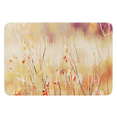 You are Precious by Suzanne Carter Bath Mat