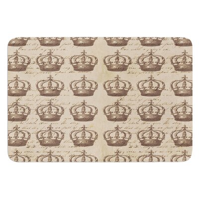 Crowns by Suzanne Carter Bath Mat