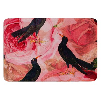 Song Bird Cush by Suzanne Carter Bath Mat