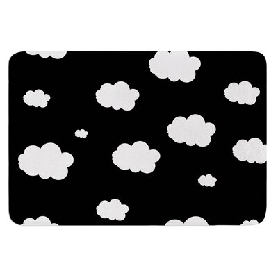 Clouds by Suzanne Carter Bath Mat
