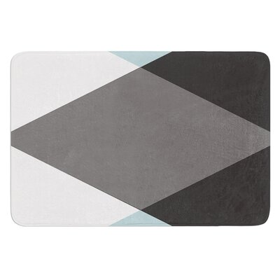 Diamonds by Suzanne Carter Bath Mat