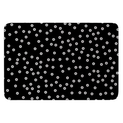 Watercolor Dots by Skye Zambrana Bath Mat