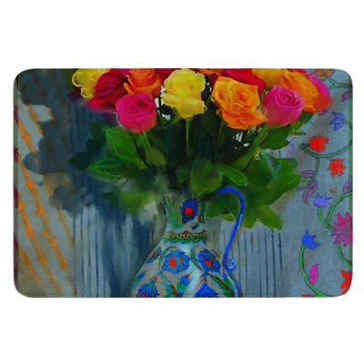 Spring Bouquet by S. Seema Z Bath Mat