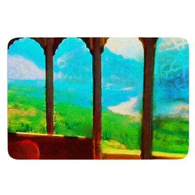 Mountain Retreat by S. Seema Z Bath Mat