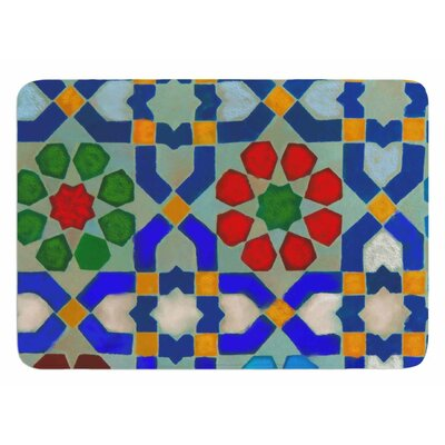 Morrocon Blues by S. Seema Z Bath Mat