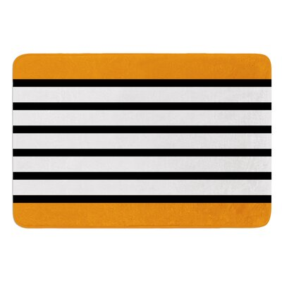 Sest Redaka by Trebam Bath Mat Color: Orange