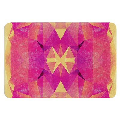 Retro Geometrie by Nika Martinez Bath Mat