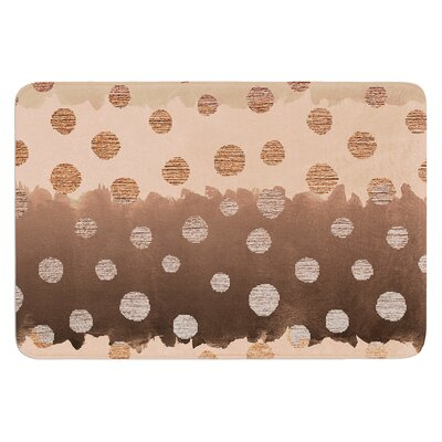 Earth Dots by Nika Martinez Bath Mat