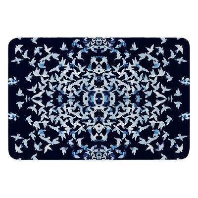 Night Birds by Marianna Tankelevich Bath Mat